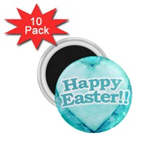 Happy Easter Theme Graphic 1.75  Magnets (10 pack)