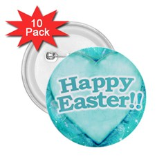Happy Easter Theme Graphic 2.25  Buttons (10 pack)