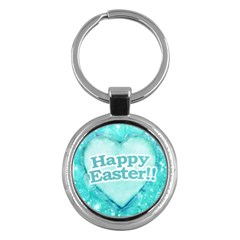 Happy Easter Theme Graphic Key Chains (Round)