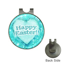 Happy Easter Theme Graphic Hat Clips with Golf Markers