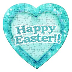 Happy Easter Theme Graphic Jigsaw Puzzle (Heart)