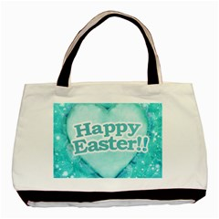 Happy Easter Theme Graphic Basic Tote Bag