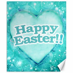Happy Easter Theme Graphic Canvas 8  x 10