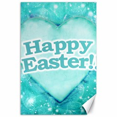 Happy Easter Theme Graphic Canvas 24  x 36
