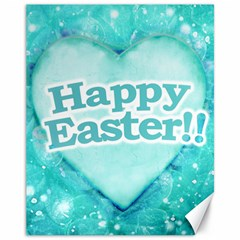 Happy Easter Theme Graphic Canvas 11  x 14