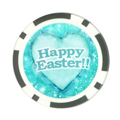 Happy Easter Theme Graphic Poker Chip Card Guard (10 pack)