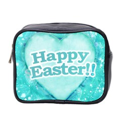 Happy Easter Theme Graphic Mini Toiletries Bag 2-Side