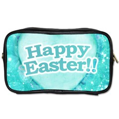 Happy Easter Theme Graphic Toiletries Bags