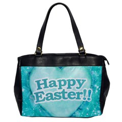 Happy Easter Theme Graphic Office Handbags