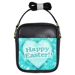 Happy Easter Theme Graphic Girls Sling Bags