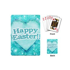 Happy Easter Theme Graphic Playing Cards (Mini)