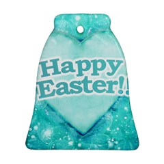 Happy Easter Theme Graphic Bell Ornament (Two Sides)