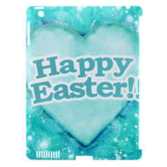 Happy Easter Theme Graphic Apple iPad 3/4 Hardshell Case (Compatible with Smart Cover)