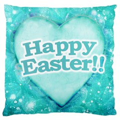 Happy Easter Theme Graphic Large Cushion Case (Two Sides)