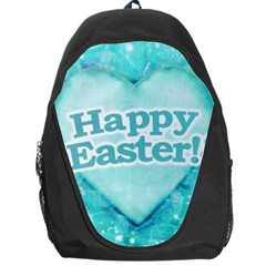 Happy Easter Theme Graphic Backpack Bag