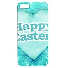 Happy Easter Theme Graphic Apple iPhone 5 Hardshell Case with Stand
