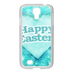 Happy Easter Theme Graphic Samsung GALAXY S4 I9500/ I9505 Case (White)