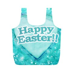 Happy Easter Theme Graphic Full Print Recycle Bags (M)