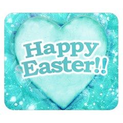 Happy Easter Theme Graphic Double Sided Flano Blanket (Small)