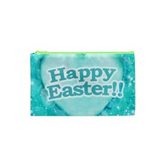 Happy Easter Theme Graphic Cosmetic Bag (XS)