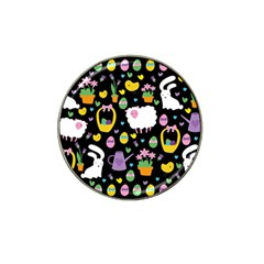 Cute Easter pattern Hat Clip Ball Marker