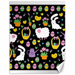 Cute Easter pattern Canvas 18  x 24