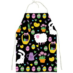 Cute Easter pattern Full Print Aprons