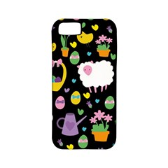 Cute Easter pattern Apple iPhone 5 Classic Hardshell Case (PC+Silicone)