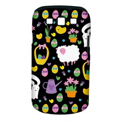 Cute Easter pattern Samsung Galaxy S III Classic Hardshell Case (PC+Silicone)