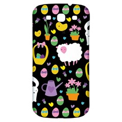 Cute Easter pattern Samsung Galaxy S3 S III Classic Hardshell Back Case