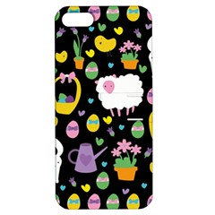 Cute Easter pattern Apple iPhone 5 Hardshell Case with Stand