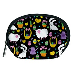 Cute Easter pattern Accessory Pouches (Medium)