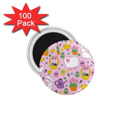 Cute Easter pattern 1.75  Magnets (100 pack)