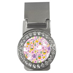 Cute Easter pattern Money Clips (CZ)