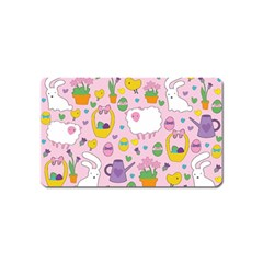 Cute Easter pattern Magnet (Name Card)