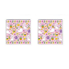 Cute Easter pattern Cufflinks (Square)
