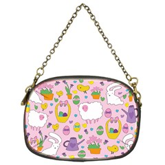 Cute Easter pattern Chain Purses (One Side)