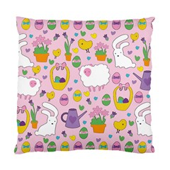Cute Easter pattern Standard Cushion Case (Two Sides)