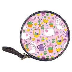 Cute Easter pattern Classic 20-CD Wallets
