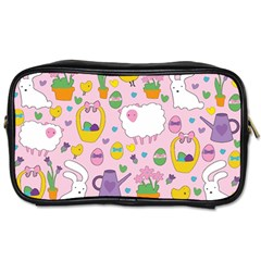 Cute Easter pattern Toiletries Bags