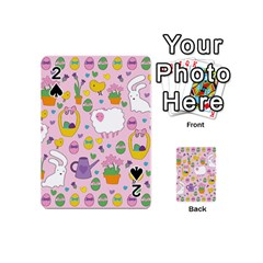 Cute Easter pattern Playing Cards 54 (Mini)