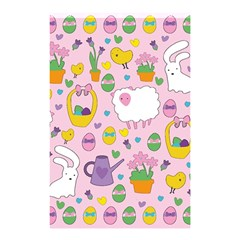 Cute Easter pattern Shower Curtain 48  x 72  (Small)