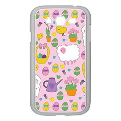 Cute Easter pattern Samsung Galaxy Grand DUOS I9082 Case (White)