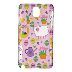 Cute Easter pattern Samsung Galaxy Note 3 N9005 Hardshell Case