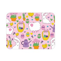 Cute Easter pattern Double Sided Flano Blanket (Mini)