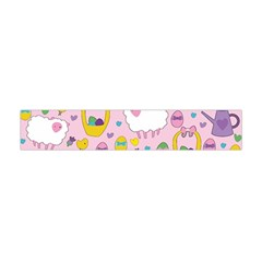Cute Easter pattern Flano Scarf (Mini)