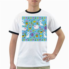 Cute Easter pattern Ringer T-Shirts