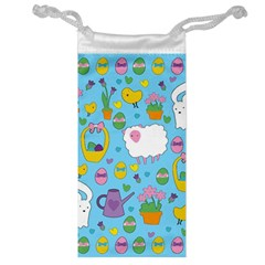 Cute Easter pattern Jewelry Bag