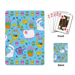 Cute Easter pattern Playing Card