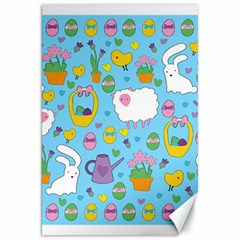 Cute Easter pattern Canvas 20  x 30